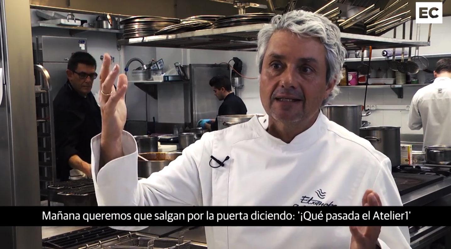 Vídeo de El Correo por la inauguración del Atelier de Etxanobe